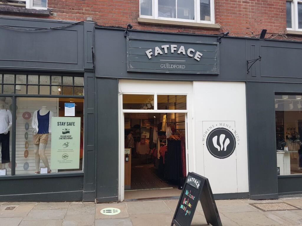 Fatface banner