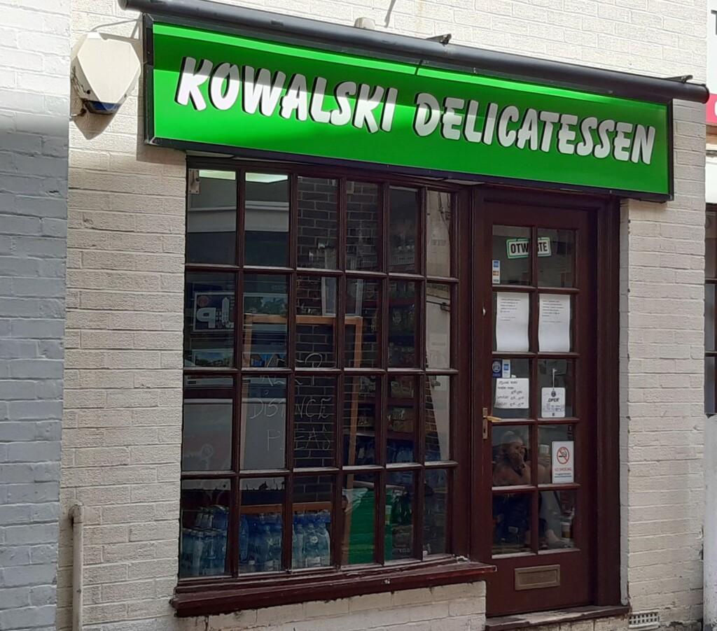 Kowalski delicatassen banner