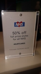 Kurt Geiger NHS offer