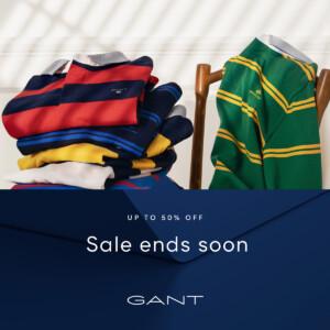 GANT sale ends soon