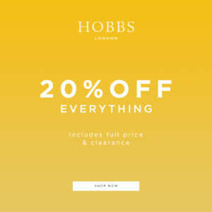 HOBBS 20% Off Everything