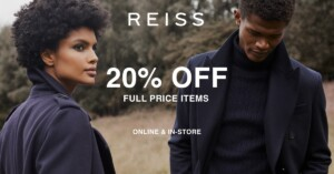 Reiss 20% off