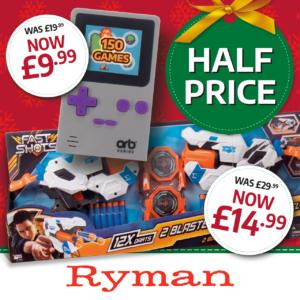 Ryman Christmas Offers