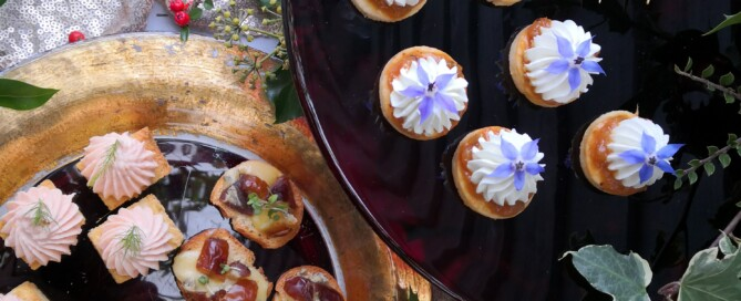 Creative Canape Cookalong by Positively Delicious